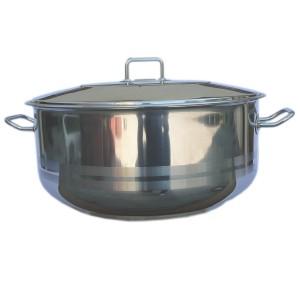 Oala inox, semiadanca, 3302.40, 30 L, 40 cm