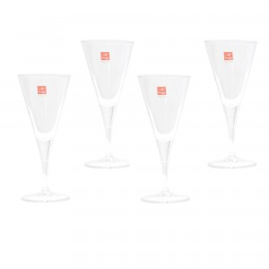 Pahar vin, Ypsilon 0018184, din sticla, 225 ml, set 4 bucati