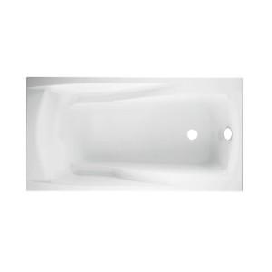 Cada baie rectangulara Cersanit Zen S301-128, acril, 170 x 85 cm