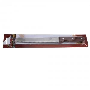 Cutit paine Kasemi 1101791, lemn + inox, 30.5 x 2.5 cm
