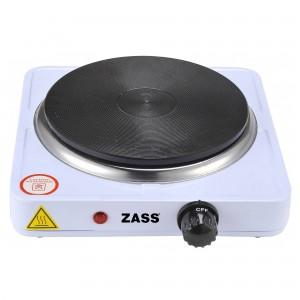 Plita electrica Zass ZHP 06A, 1500 W, 1 arzator, termostat reglabil, alb