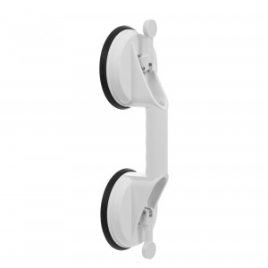 Maner de sustinere, pentru baie, Davo Pro Ridder A0150201, alb, montaj cu ventuze, 33 cm