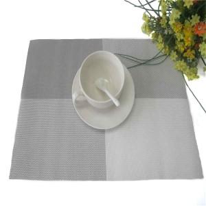 Suport masa GB-008, pvc + poliester, gri + alb, 45 x 30 cm