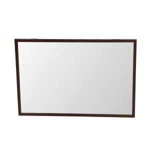 Oglinda decorativa Class Mirrors, cu rama wenge, 62.5 x 42.5 cm