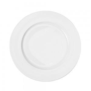 Farfurie intinsa GX, portelan, alb, 26 cm