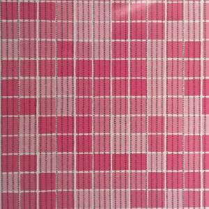 Covoras baie Aquamat, model patratele, roz, 65 cm