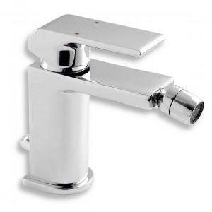 Baterie baie pentru bideu, Ferro Nobless Sharp, monocomanda, finisaj cromat + ventil