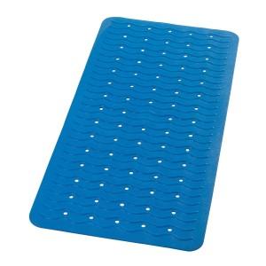 Covoras baie cu ventuze Playa 68303, albastru, 38 x 80 cm