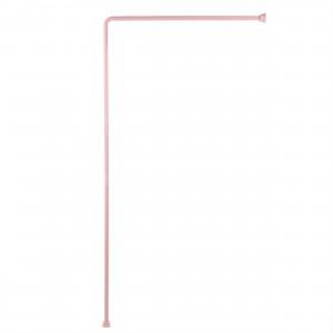 Bara perdea dus, aluminiu, BBP 004200, 90 x 180 cm