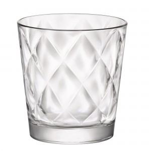 Pahar pentru apa / suc, Kaleido, din sticla transparenta, 240 ml, set 6 bucati