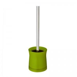 Perie WC Davo Pro Disco 2103405, acrilic, verde, 10.5 x 38.5 cm