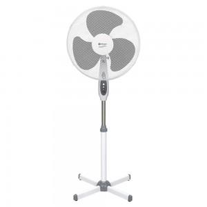 Ventilator cu picior Rohnson R853, 55 W, 3 viteze, diametru 40 cm, alb cu gri