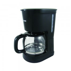 Cafetiera Zass ZCM 10 BL, 1000 W, 1.5 l, capacitate 12 cesti, functie antipicurare, functie mentinere cald, negru