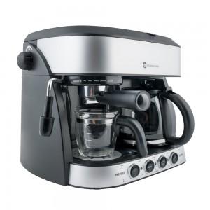 Espressor cafea Studio Casa Di Mattino SC425, cafea macinata + capsule, 15 bar, 1700 W, capacitate 1.25 l, negru + gri