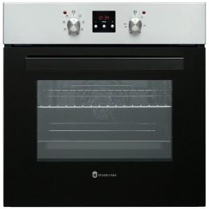 Cuptor electric incorporabil Studio Casa Napoli, clasa A, 65 litri, 8 functii, grill, timer, ventilator, 2300 W, argintiu + negru
