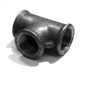 Teu fonta zincata, 3/4 inch, 130