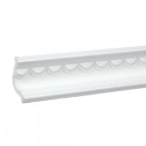 Bagheta polistiren decorativa VTM M6 08 NW clasic alb 200 x 4.5 x 0.5 cm