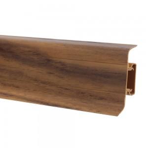 Plinta parchet PVC 10456-0040 canal nuc 2500 x 52 x 22 mm