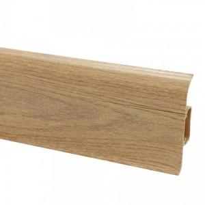 Plinta parchet PVC Smart Flex 521 canal stejar antic 2500 x 55 x 22 mm
