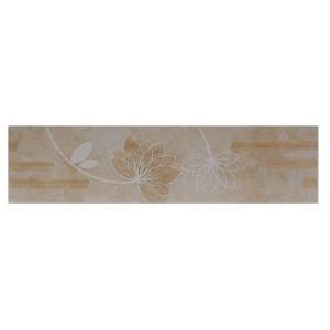 Brau faianta Olimp 2502-0916 bej lucios 6.5 x 25.2 cm