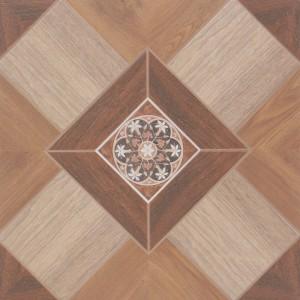 Gresie decor exterior / interior portelanata Palace 6046-0148 maro, mata, 45 x 45 cm