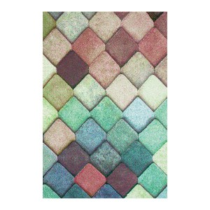 Covor living / dormitor Sintelon Vegas Pop 40 VAV polipropilena frize, heat-set dreptunghiular multicolor 120 x 170 cm