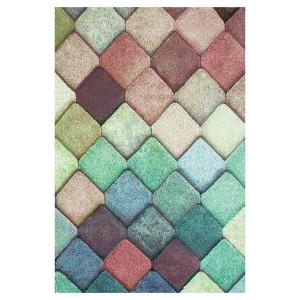 Covor living / dormitor Sintelon Vegas Pop 40 VAV polipropilena frize, heat-set dreptunghiular multicolor 160 x 230 cm
