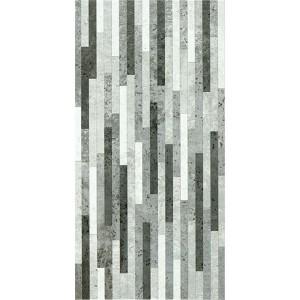Faianta baie / bucatarie 2051-0140 Cement/ Lamele gri mata 25 x 50 cm