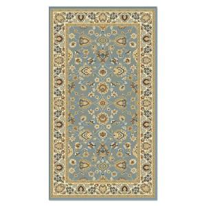 Covor living / dormitor Carpeta Atlas 81621-41266 polipropilena heat-set dreptunghiular albastru 80 x 150 cm