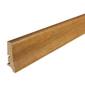 Plinta parchet furnir P50, stejar carmelian, 2000 x 58 x 21 mm
