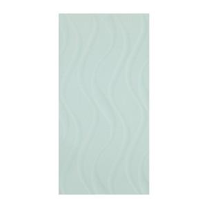 Faianta baie 59261 Elektra L. Green Waves, verde, lucioasa, 25 x 50 cm