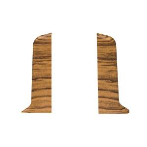 Terminatie pentru plinta, stanga / dreapta, SET 10456-6013, PVC, stejar transilvania, 52 x 20 mm, 4 buc / set