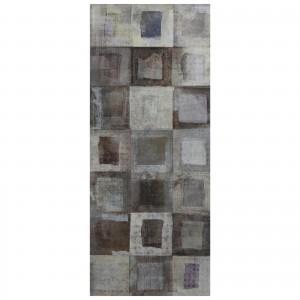 Decor faianta baie / bucatarie Cambridge Gardel (Tango) Gris lucios 25 x 60 cm