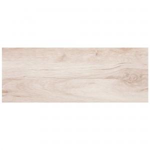 Gresie interior, universala, Forest Blanco, mata, tip parchet, alba, 22.5 x 60 cm