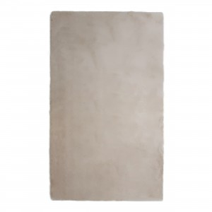 Covor living / dormitor Wuhan Chip Pes 7060 poliester dreptunghiular crem 80 x 150 cm