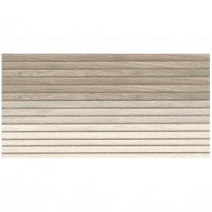 Faianta decor baie / bucatarie Panel Wood Transitive rectificata maro mata 29.3 x 59.3 cm