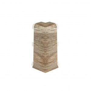 Colt exterior pentru plinta Vilo Esquero 610 stejar ghinda 66.6 x 21.9 mm 2 buc / set