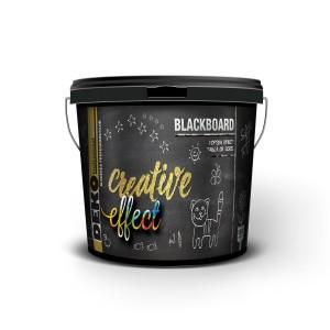 Vopsea efect tabla de scris interior, Deko Creative Effect, neagra, 1.25 L
