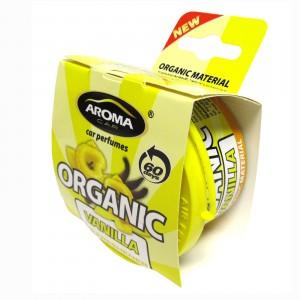 Odorizant gel Organic Vanilla Aroma Car