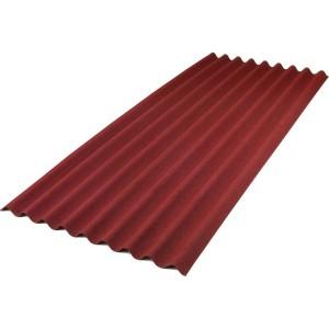 Placa Onduline Base rosie 2000x855x2.6 mm