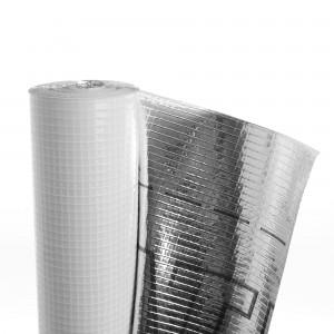 Folie bariera de vapori, aluminiu, Delta Reflex, 3 straturi, 1.5 x 50 m, 75 mp