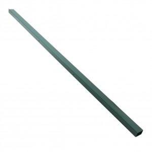 Stalp de gard verde dreptunghiular 1.75 m 60 x 40 mm