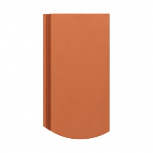 Tigla ceramica 1/1 Creaton Rona, rosu natural, 20.5 x 40 cm