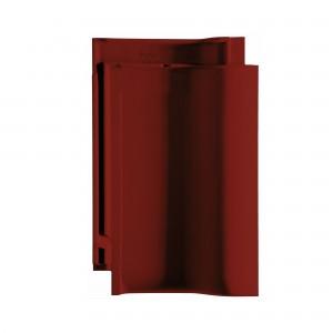 Tigla ceramica 1/1 Creaton Balance, rosu vin angoba, 32 x 50 cm