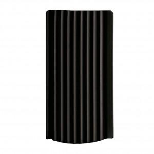 Tigla ceramica 1/1 Creaton Strangfalz, negru mat angoba, 20.5 x 40 cm