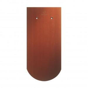 Tigla ceramica 1/1 Creaton Klassic Biber, rosu cupru angoba, 18 x 38 cm