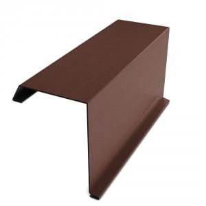 Bordura fronton Bilka maro mat (RAL 8017) 2000 x 312.5 x 0.5 mm