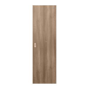 Usa culisanta Eco Euro Doors, plina, gri, 85 x 206 cm + maner ingropat