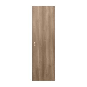 Usa culisanta Eco Euro Doors, plina, gri, 95 x 206 cm + maner ingropat