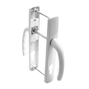 Maner usa exterior, cu arc, Safir, alb, 85 mm, 230 x 35 mm